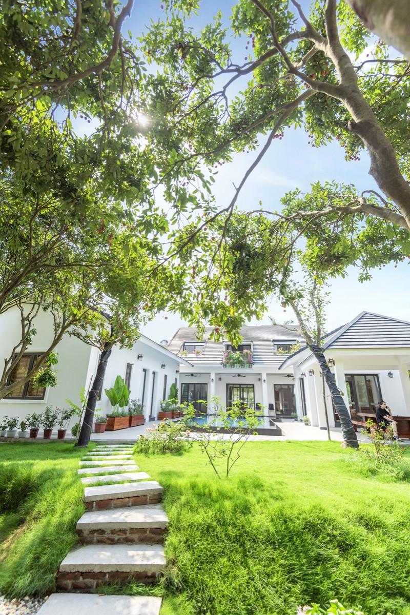Mẫu thiết kế biệt thự Homestay có bể bơi