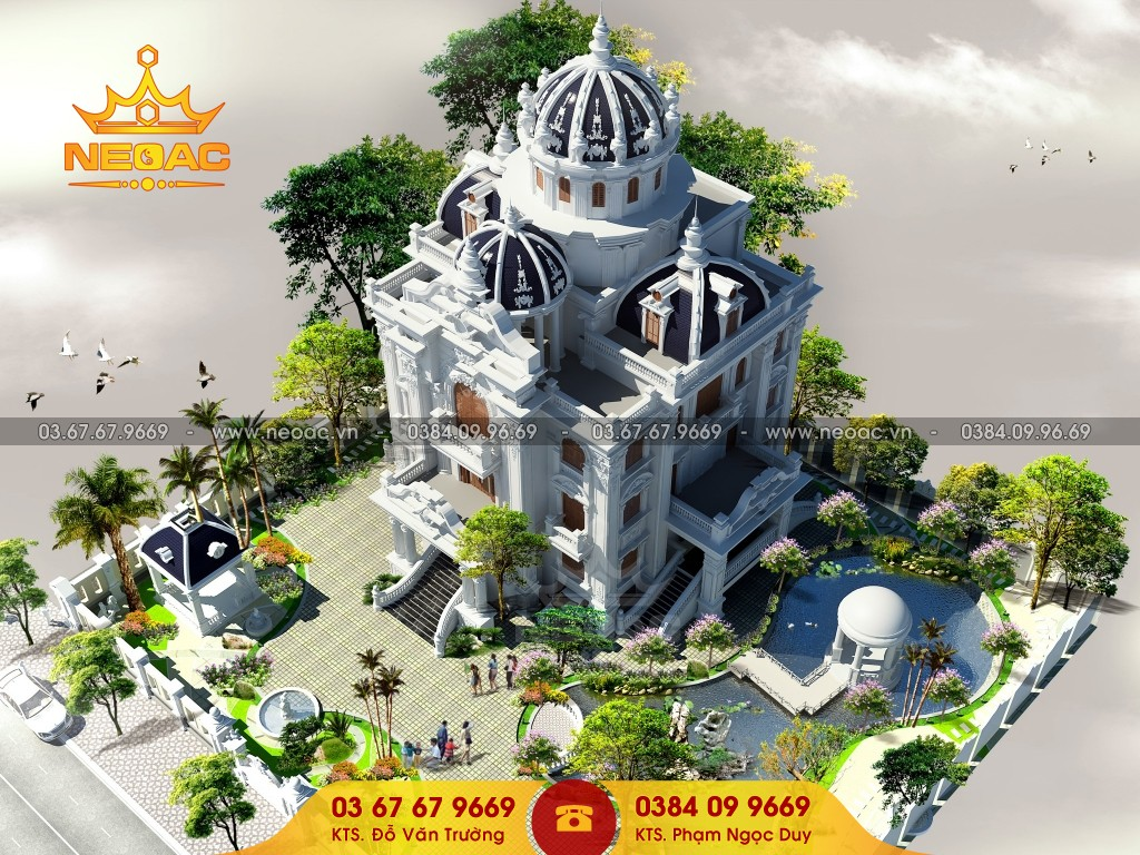 Công ty thiết kế kiến trúc tại 16 Láng Hạ