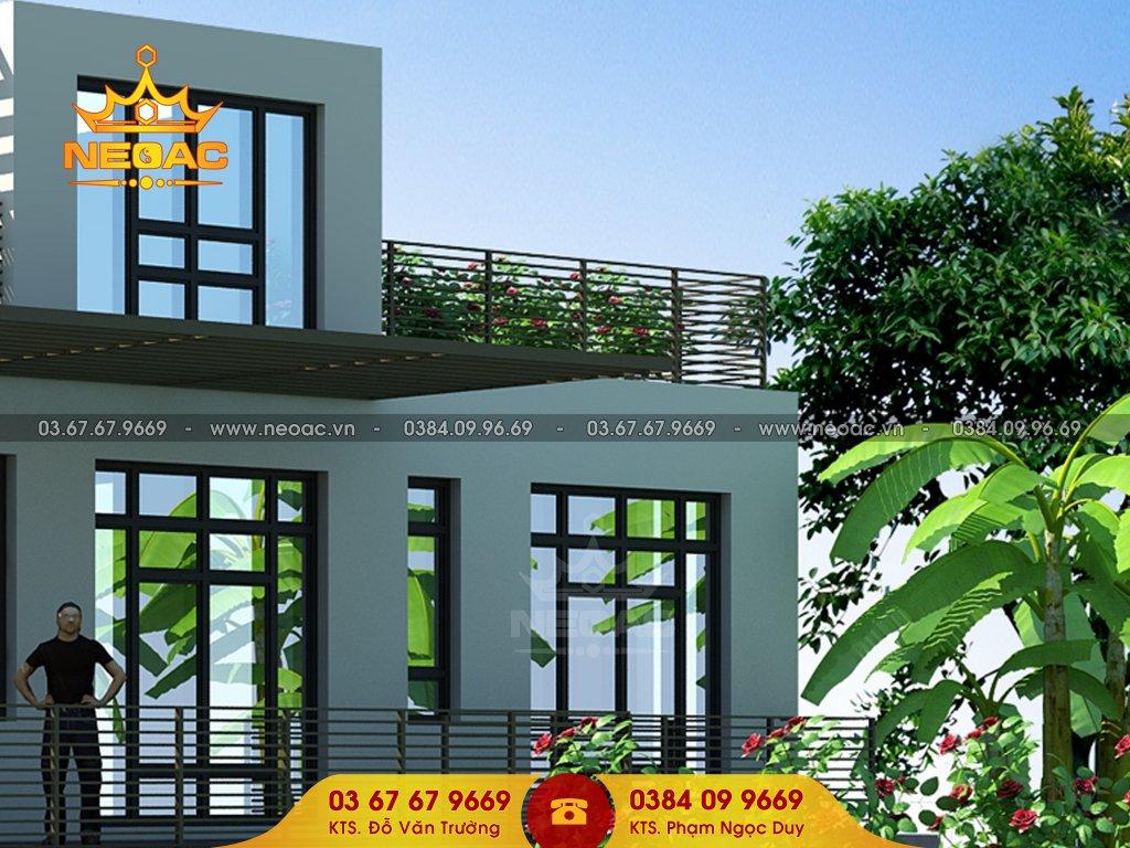 Công trình biệt thự 1 tầng hiện đại tại Bắc Ninh