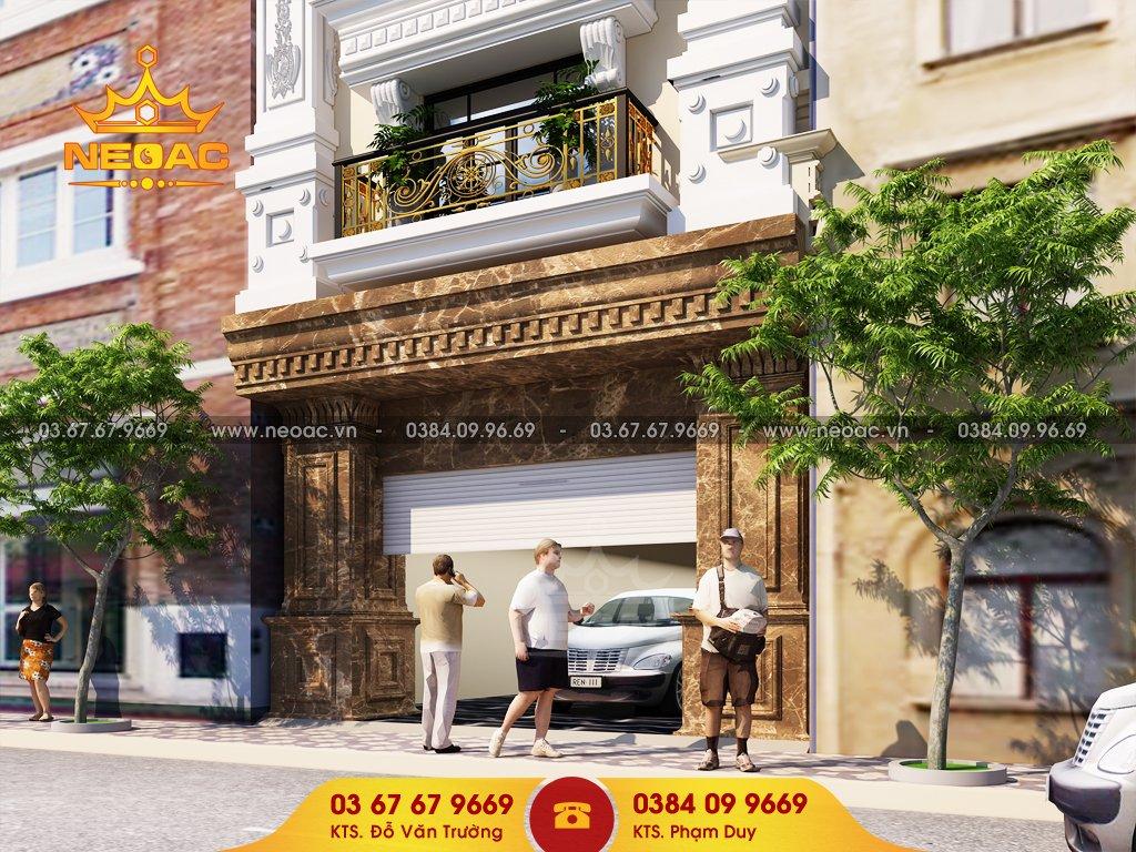 Công ty thiết kế kiến trúc tại 120 Định Công