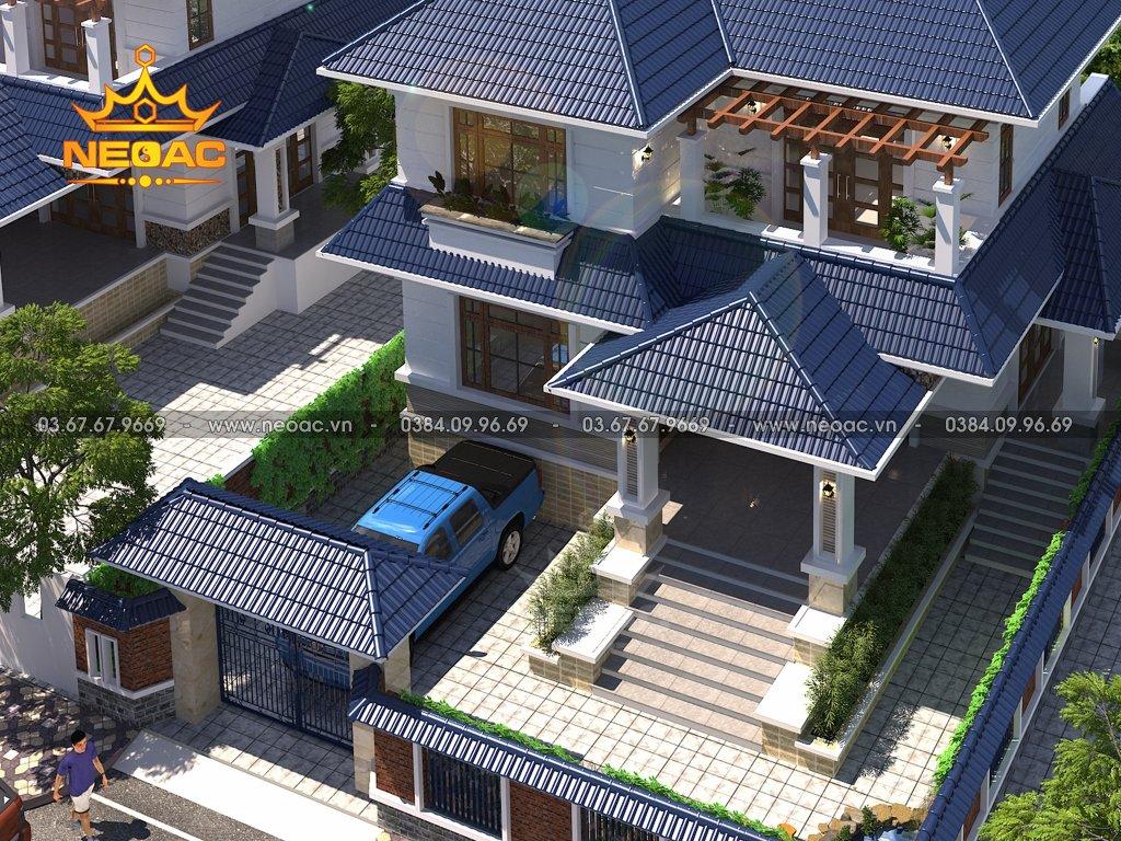 Biệt thự mái Thái 2 tầng 130m2