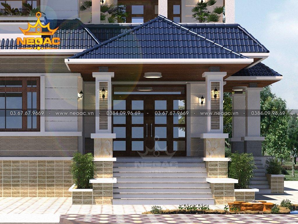 Kiến trúc biệt thự mái Thái 2 tầng 130m2