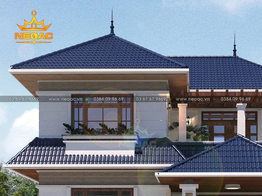 Thiết kế biệt thự mái Thái 2 tầng 130m2