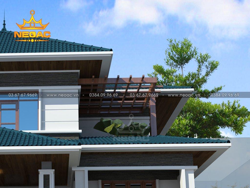 Biệt thự 2 tầng mái Thái 140m2