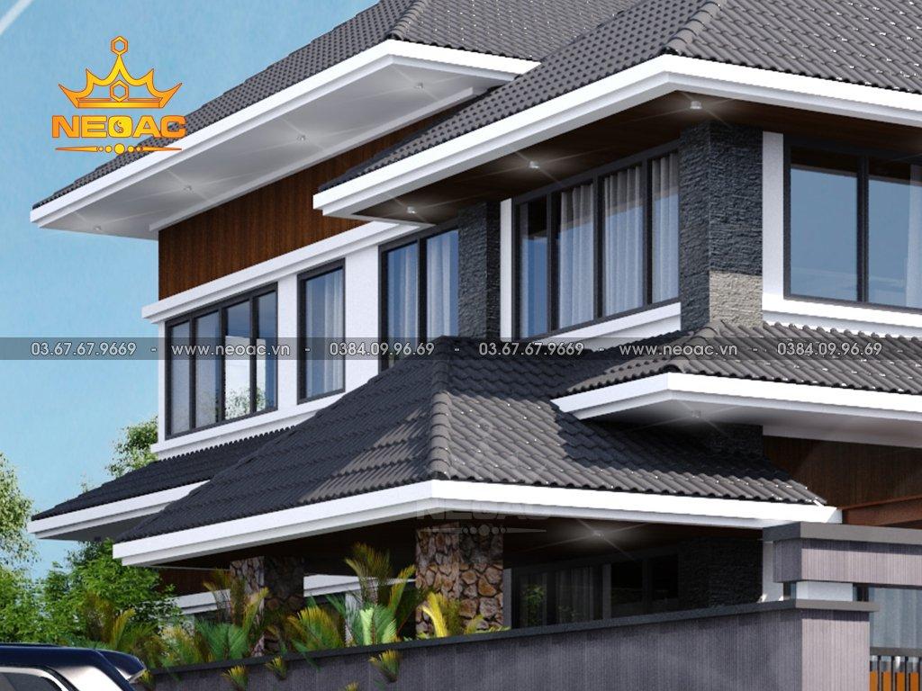 Xây dựng biệt thự mái Thái 2 tầng 150m2