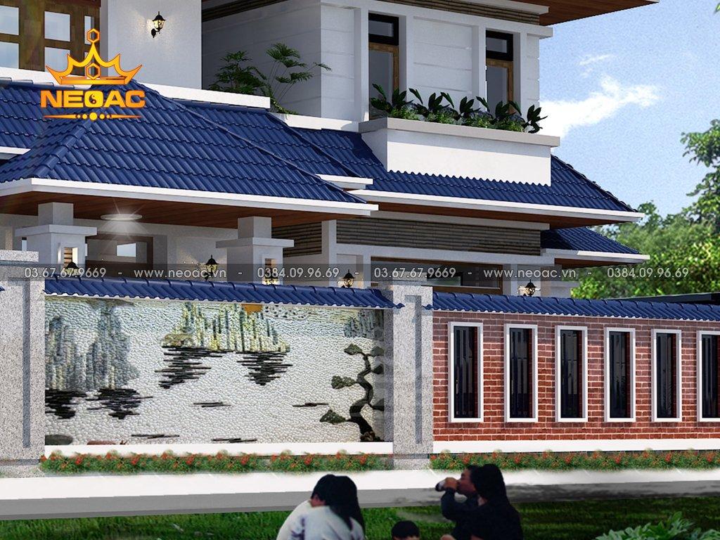 Biệt thự mái Thái 2 tầng 172m2