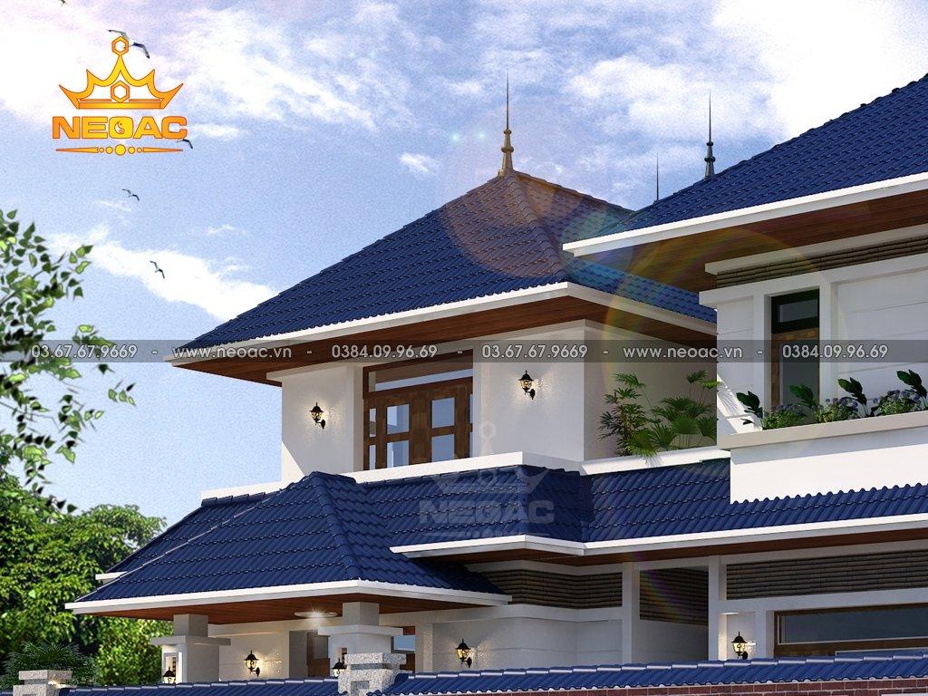 Xây dựng biệt thự mái Thái 2 tầng 172m2