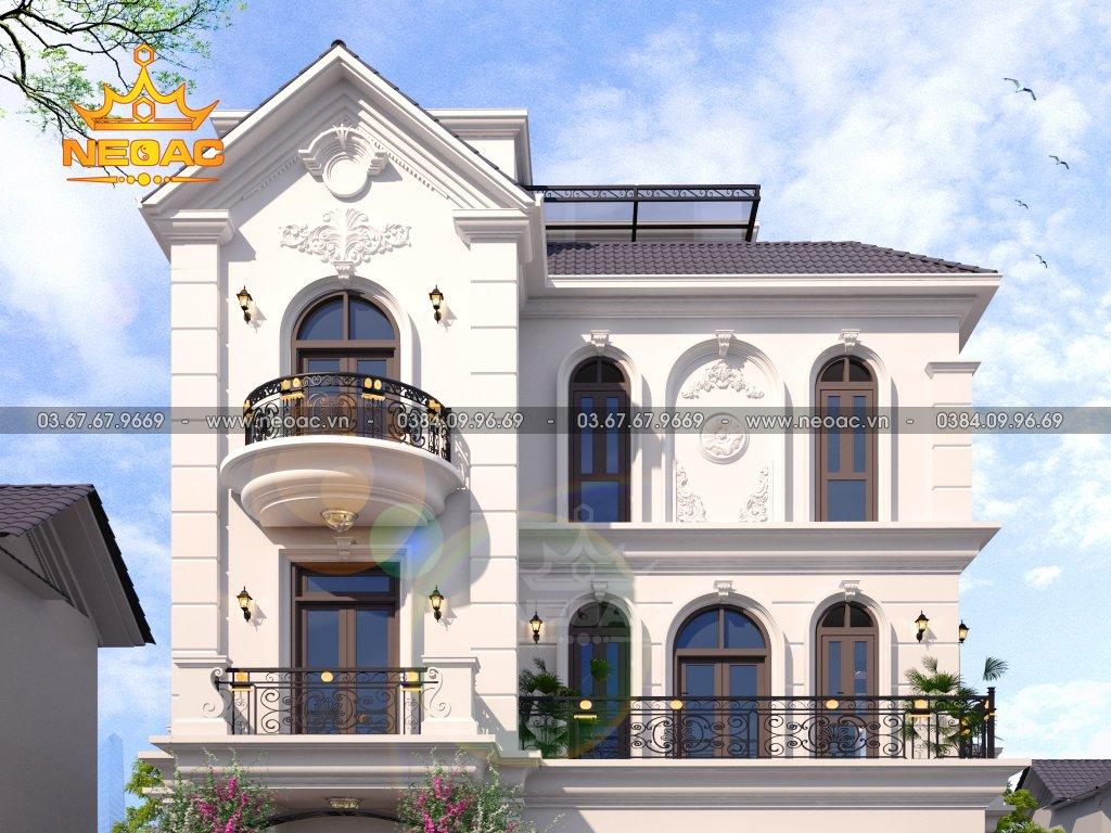 Kiến trúc biệt thự Vinhomes 3 tầng 140m2