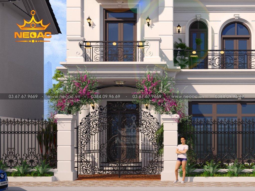 Xây dựng biệt thự Vinhomes 3 tầng 140m2