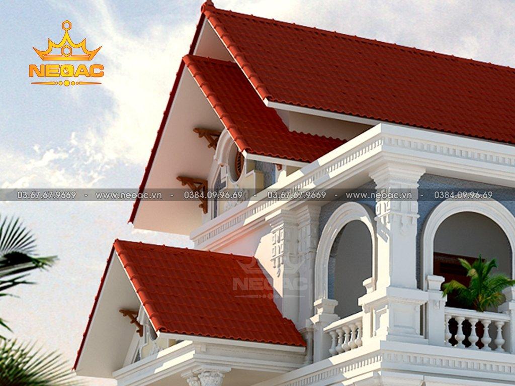 Biệt thự mái Thái 3 tầng 160m2