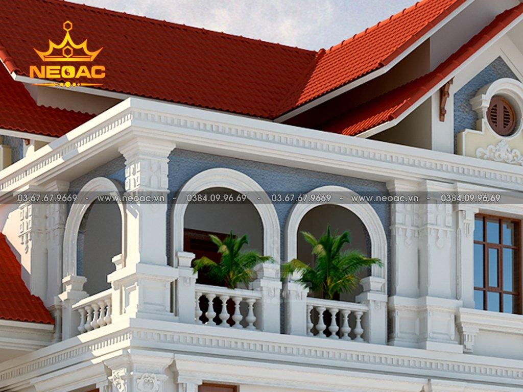 Hồ sơ biệt thự mái Thái 3 tầng 160m2