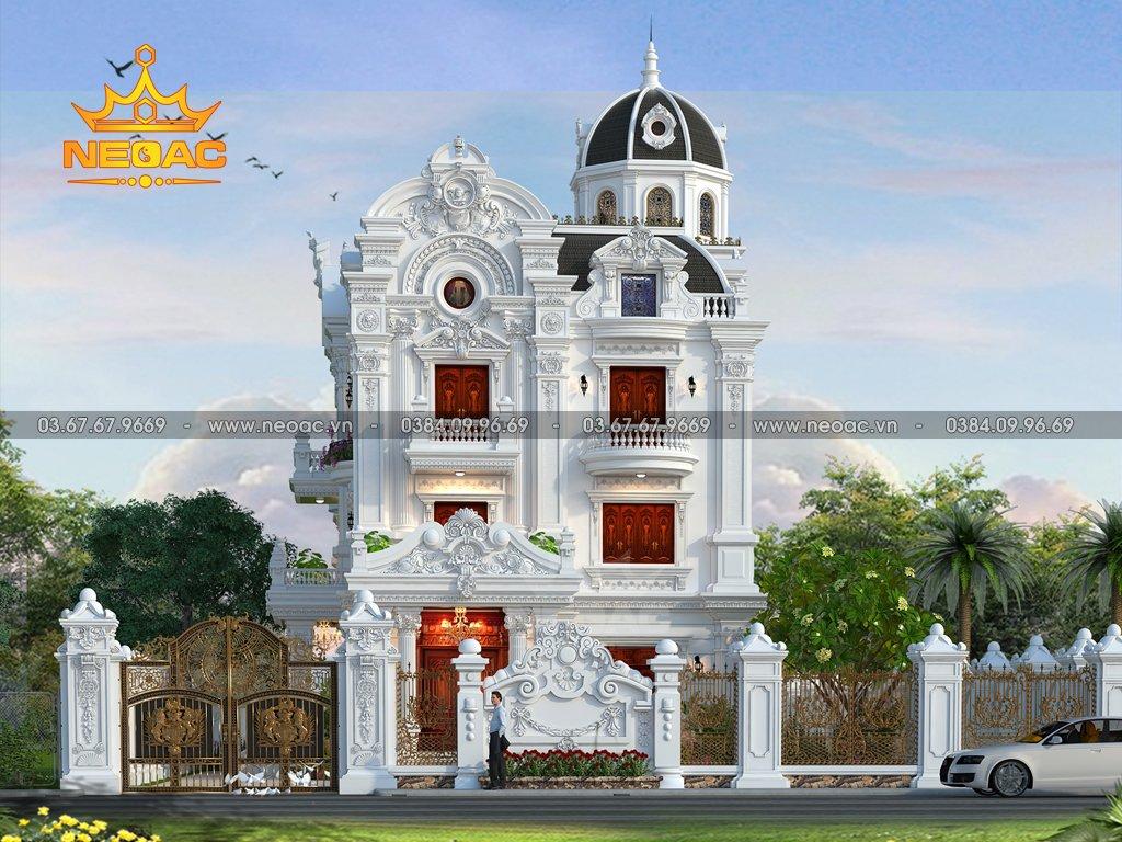 Biệt thự 3 tầng tân cổ điển 195m2 tại Quảng Ninh
