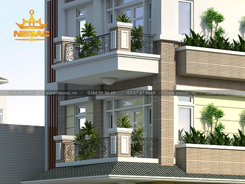 Biệt thự mái Thái 4 tầng 120m2
