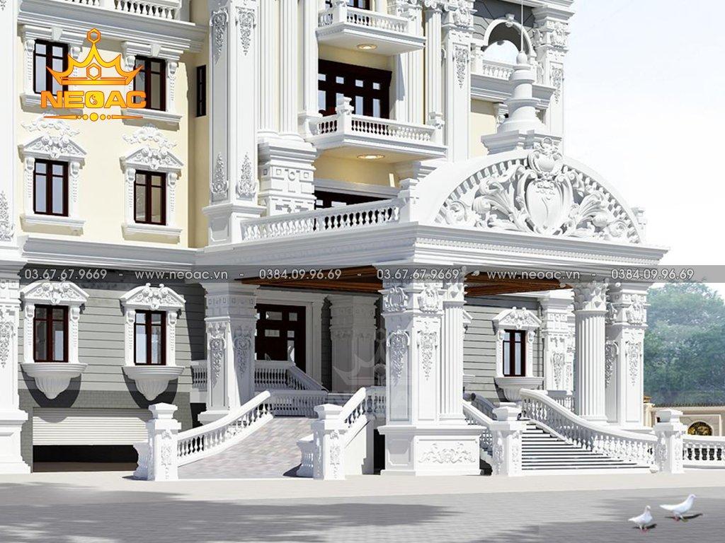 Xây dựng biệt thự tân cổ điển 6 tầng 700m2