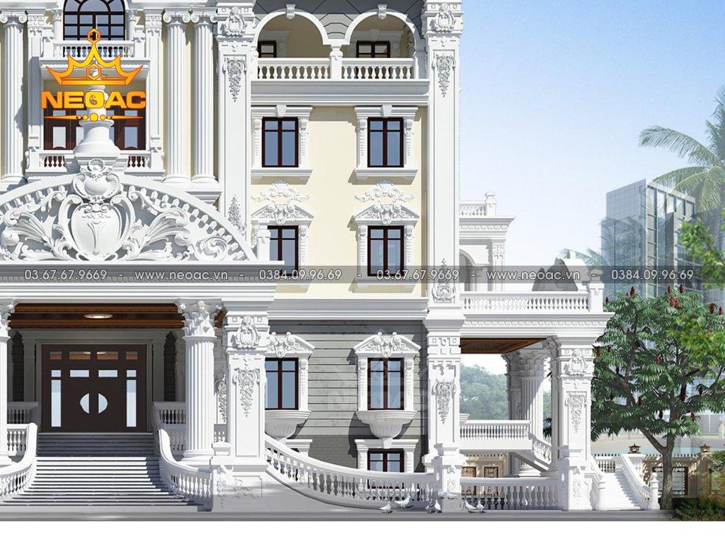 Xây dựng biệt thự 6 tầng tân cổ điển 700m2