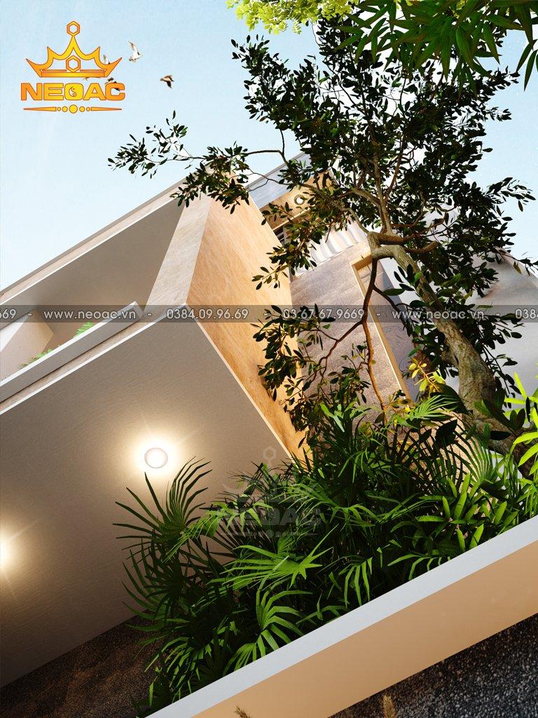 Nhà phố 3 tầng hiện đại 100m2 Huyện Lương Sơn