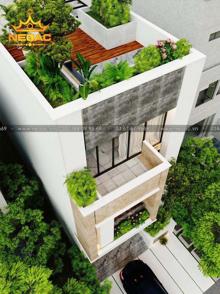 Nhà phố 3 tầng hiện đại 100m2 giá 1.2 tỷ