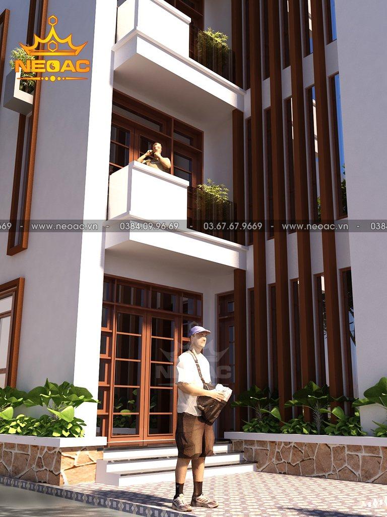 Nhà phố 4 tầng hiện đại 55m2 phường Khương Trung