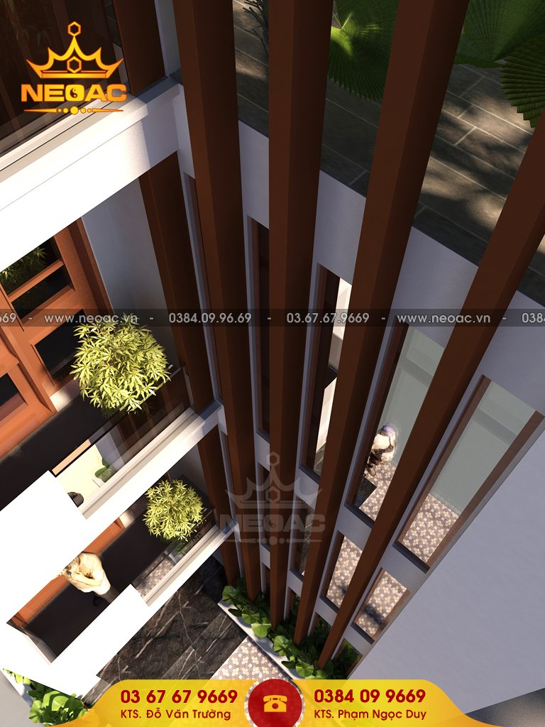 Nhà phố 4 tầng hiện đại 55m2 quận Thanh Xuân