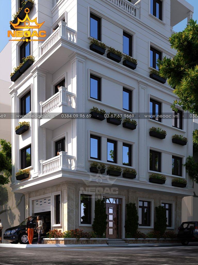 Nhà phố 4 tầng hiện đại 67m2 quận Thanh Xuân