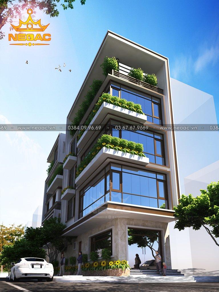 Nhà phố 5 tầng hiện đại 95m2 giá 1.2 tỷ