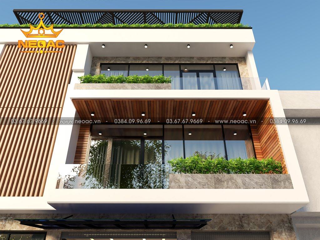 Xây dựng nhà phố 3 tầng hiện đại tại Hà Đông