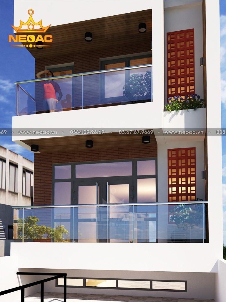 Mẫu nhà phố 4 tầng hiện đại tại Hải Dương