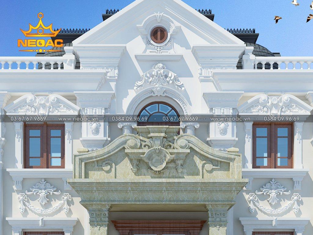 Công trình biệt thự 2 tầng tân cổ điển kích thước đất 12m x 20m