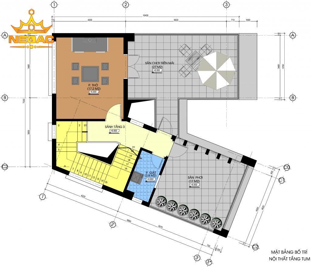Dự án nhà phố 2 tầng hiện đại 80m2