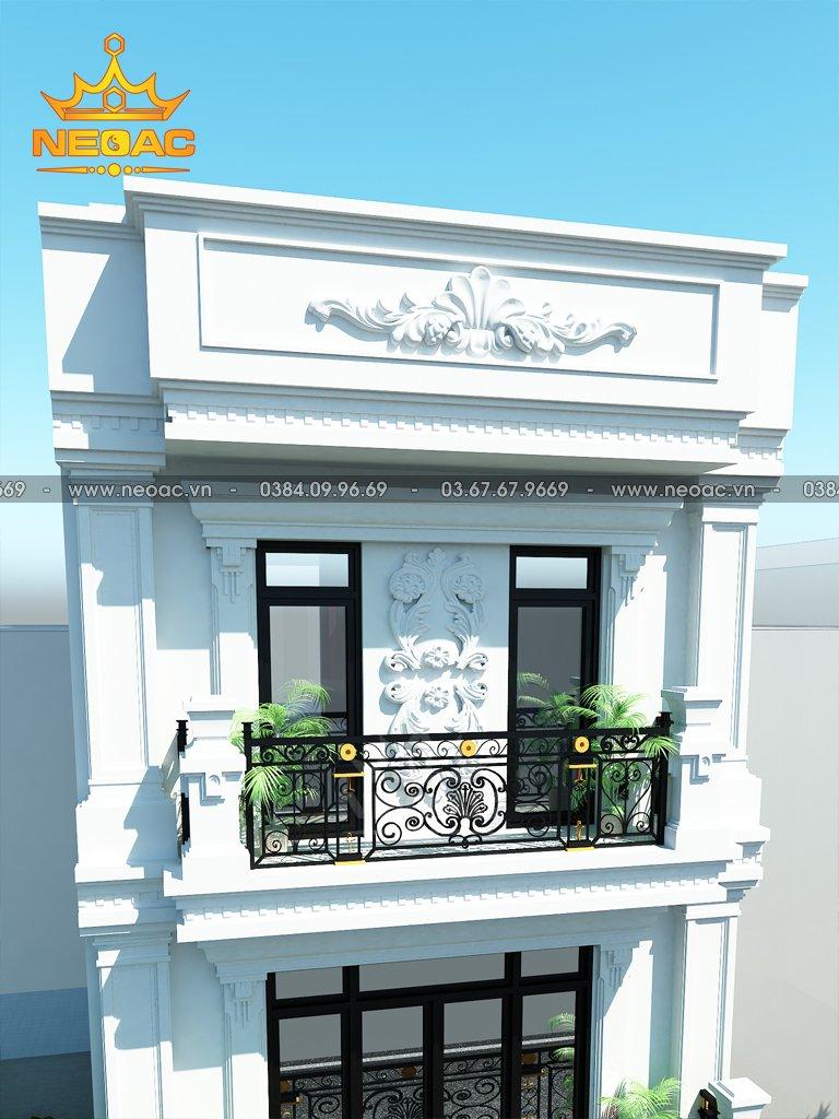 Xây dựng nhà phố 3 tầng tân cổ điển 74m2