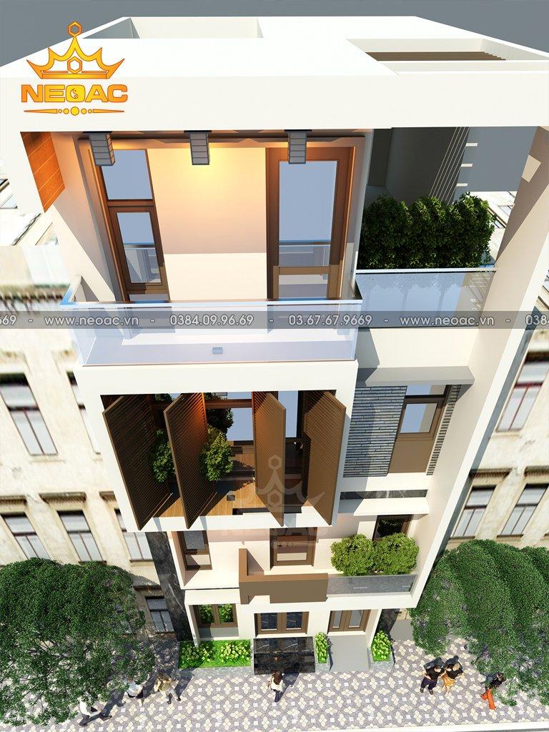 Dự án nhà phố 4 tầng hiện đại 1.5 tỷ