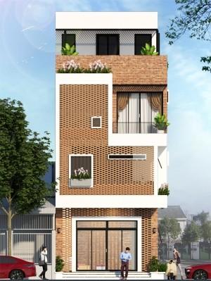 Ngỡ ngàng nhà phố 3 tầng hiện đại 66m2 siêu đẹp như Tổ Ong
