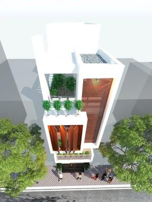 Bán hàng Online, xây nhà phố 3 tầng hiện đại 94m2 vạn người mê