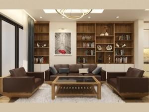 Bản vẽ mẫu nội thất hiện đại chung cư Keangnam