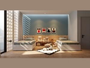 Bản vẽ mẫu nội thất nhà phố hiện đại tại Hải Phòng