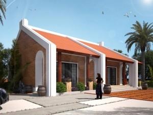 Hồ sơ xây dựng và bản vẽ kiến trúc biệt thự 1 tầng hiện đại 145m2