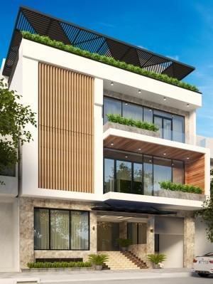 Dự án thiết kế nhà phố 3 tầng hiện đại tại Hà Đông