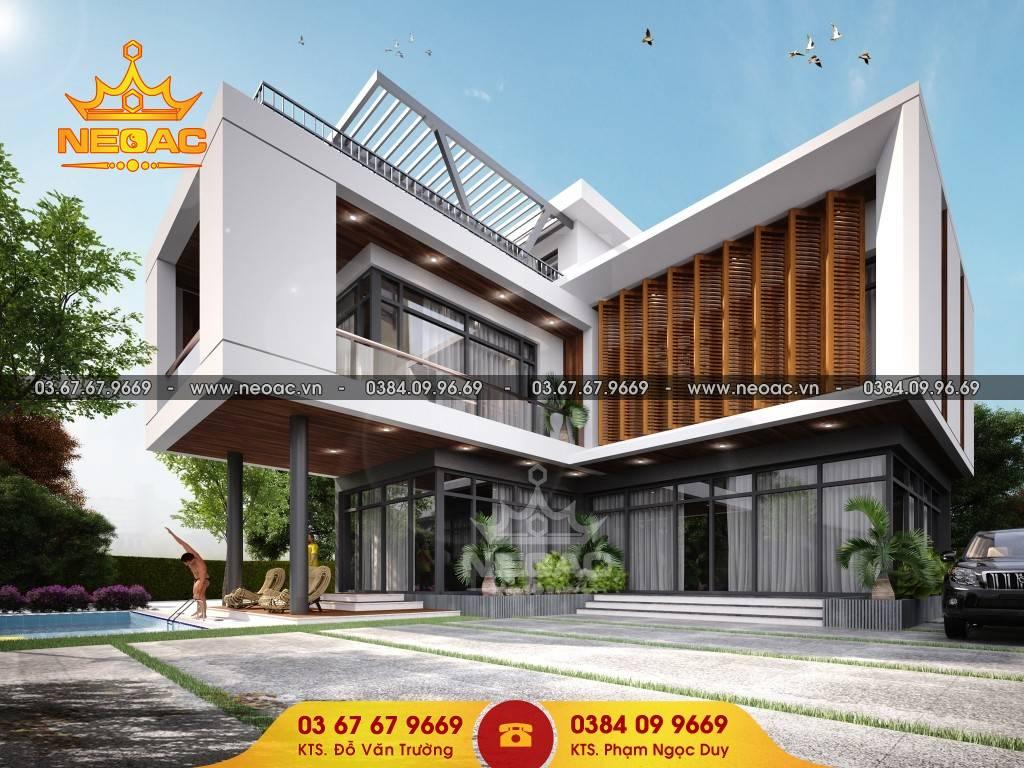 Bàn giao dự án biệt thự 2 tầng 1,6 tỷ tại Vĩnh Phúc