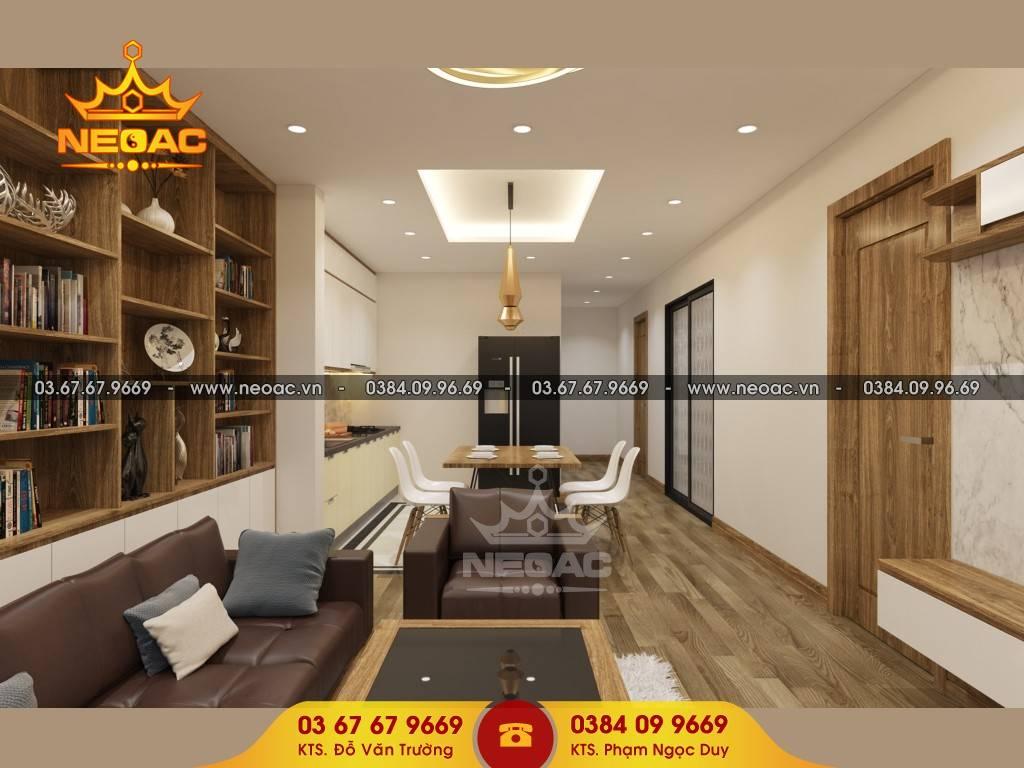 Xu hướng thiết kế nội thất chung cư theo phong cách hiện đại
