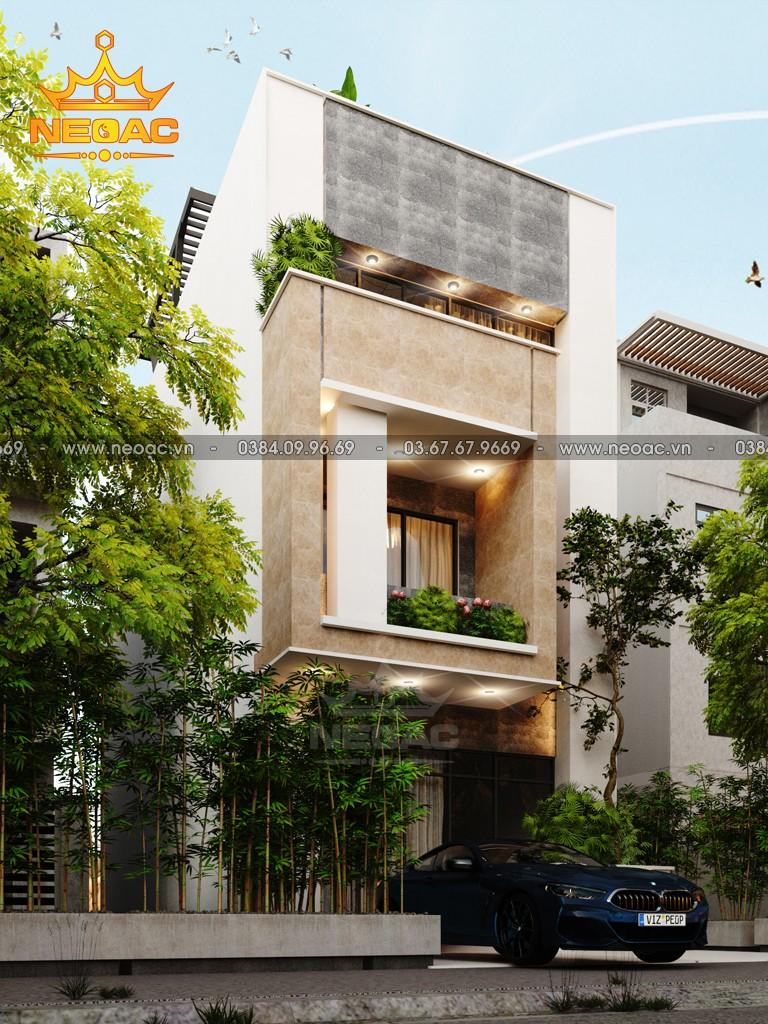 Thiết kế nhà phố 3 tầng hiện đại 100m2