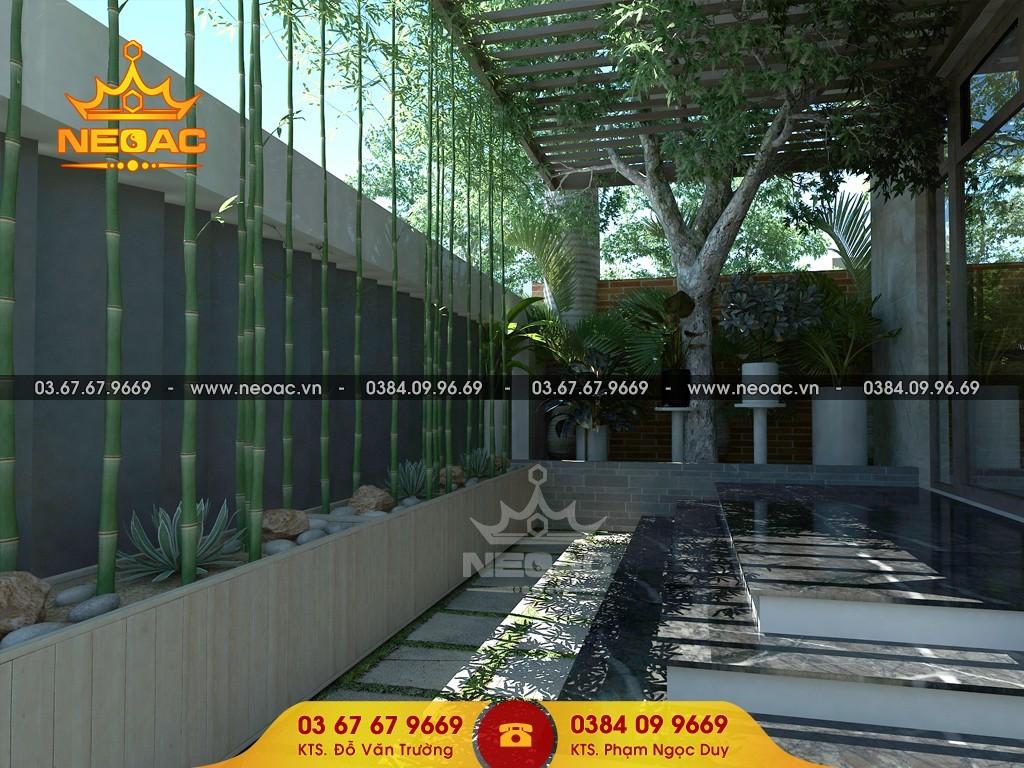 Hồ sơ mẫu biệt thự 2 tầng hiện đại mặt tiền 8.3m