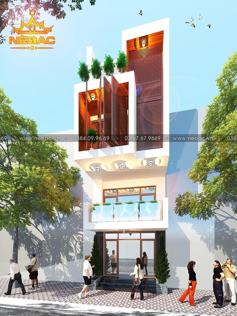 Thiết kế nhà phố 3 tầng hiện đại 94m2