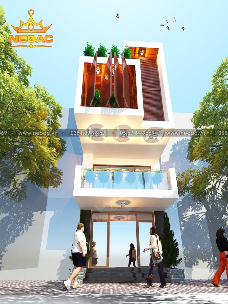 Xây dựng nhà phố 3 tầng hiện đại 94m2