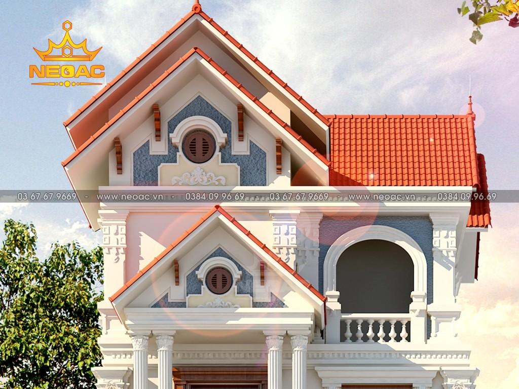 Biệt thự mái Thái 3 tầng tân cổ điển 160m2