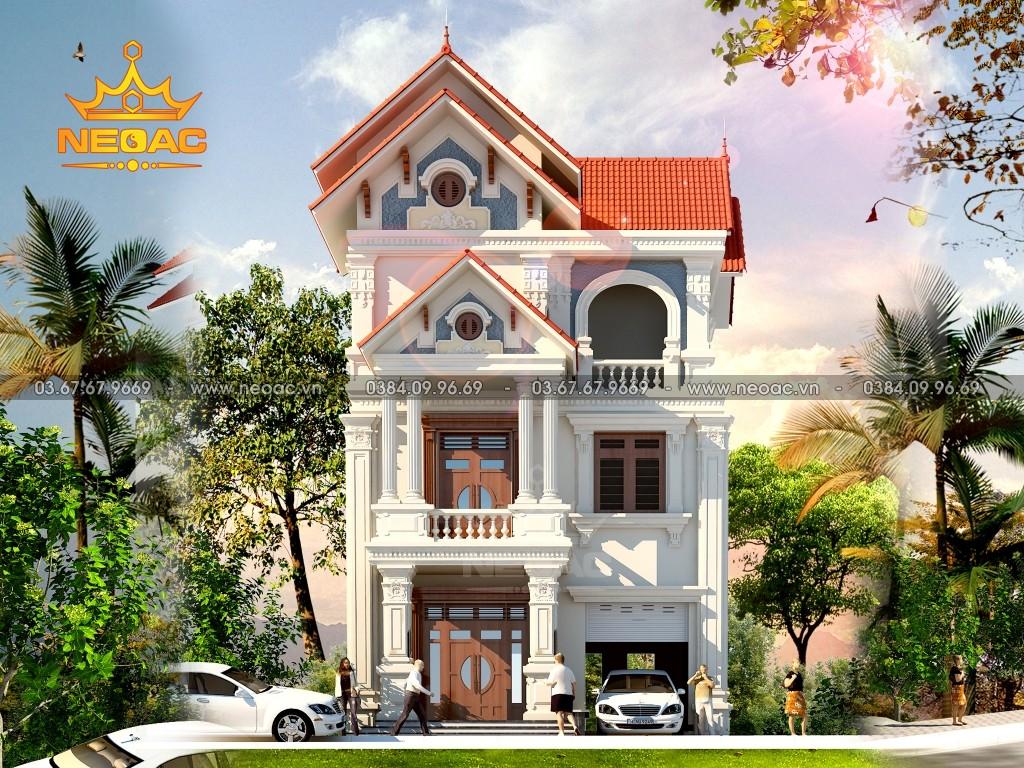 Biệt thự 3 tầng tân cổ điển 160m2 tại Hà Nội