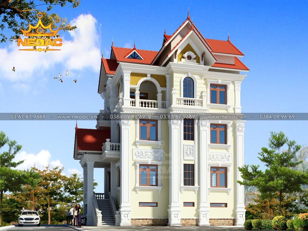 Biệt thự 5 tầng tân cổ điển 120m2 tại Hà Nội