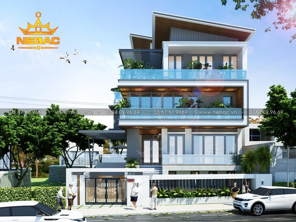 Biệt thự 5 tầng hiện đại 155m2 tại Quảng Ninh