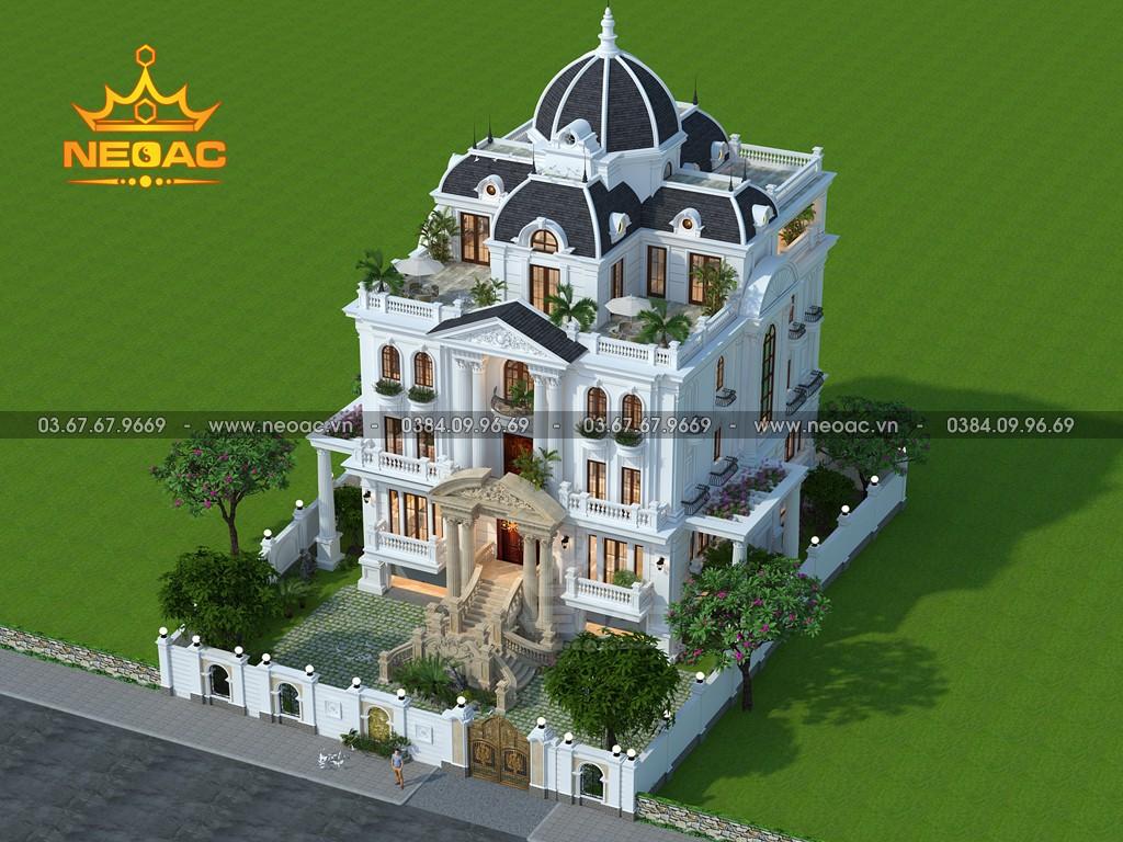 Biệt thự 6 tầng tân cổ điển 300m2 tại Quảng Ninh