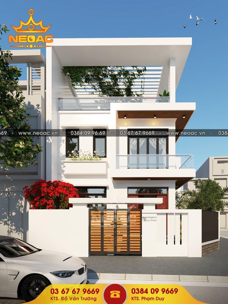 Thiết kế nhà phố 6m