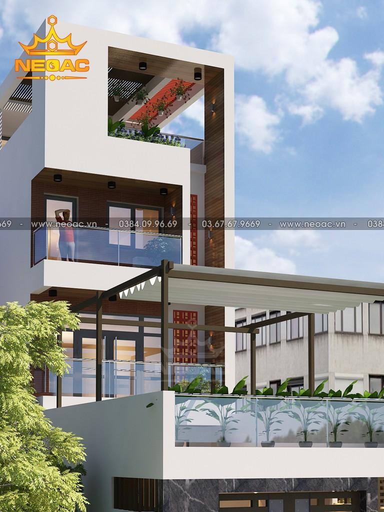 Hồ sơ mẫu thiết kế nhà phố 4 tầng hiện đại 2.5 tỷ